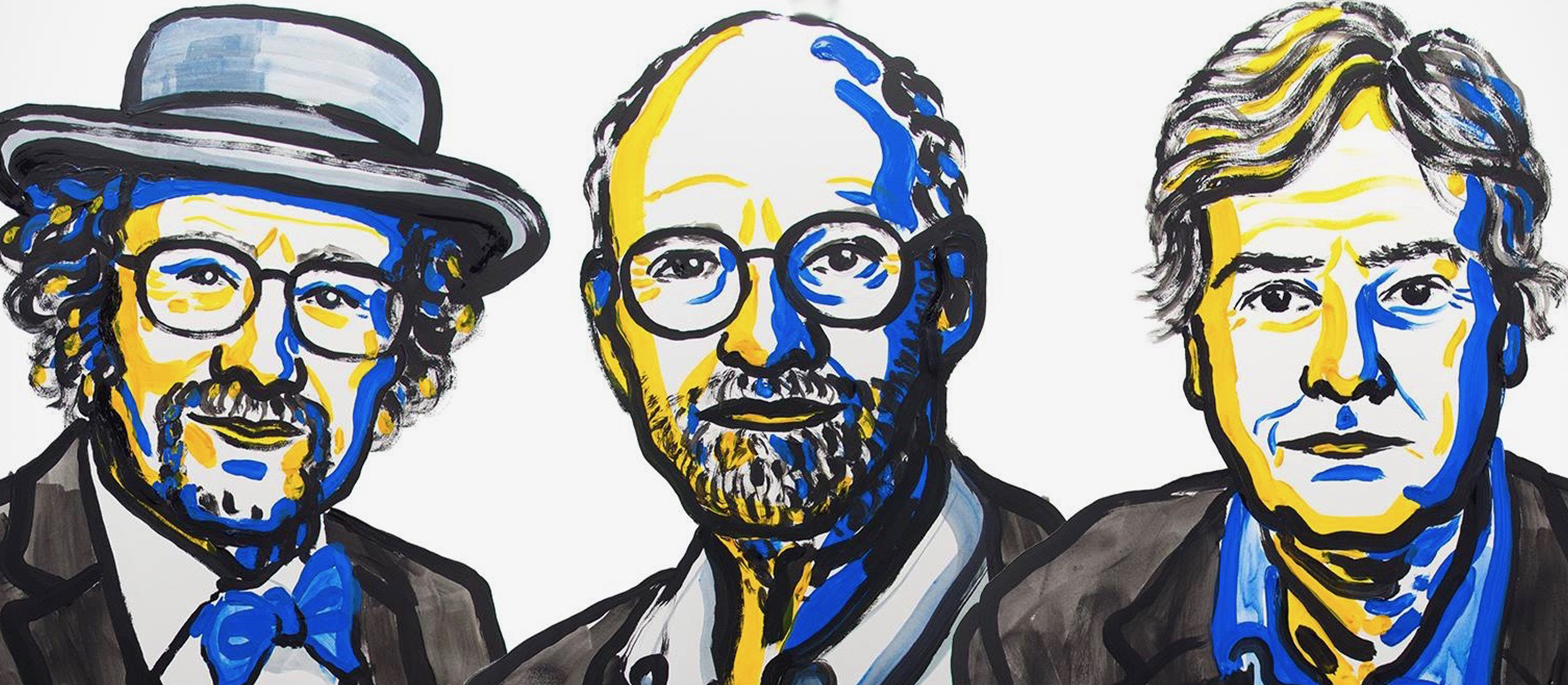 Jeffrey C. Hall, Michael Rosbash et Michael W. Young , Prix Nobel de médecine 2017