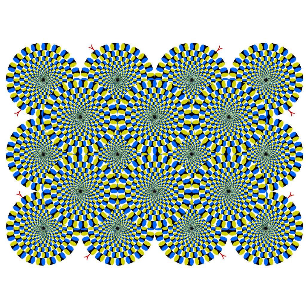 Rotative Snake Illusion