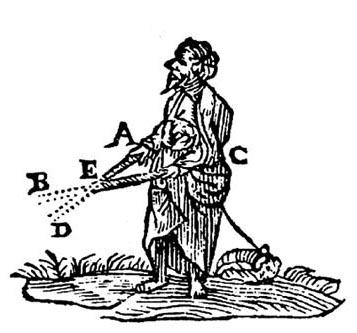 Gravure de l'édition originale de la Dioptrique de Descartes. (DR)