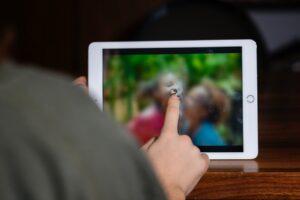 Digitrack : une application pour la détection précoce de l'autisme (photo : Valeria Pacella pour Sibius)