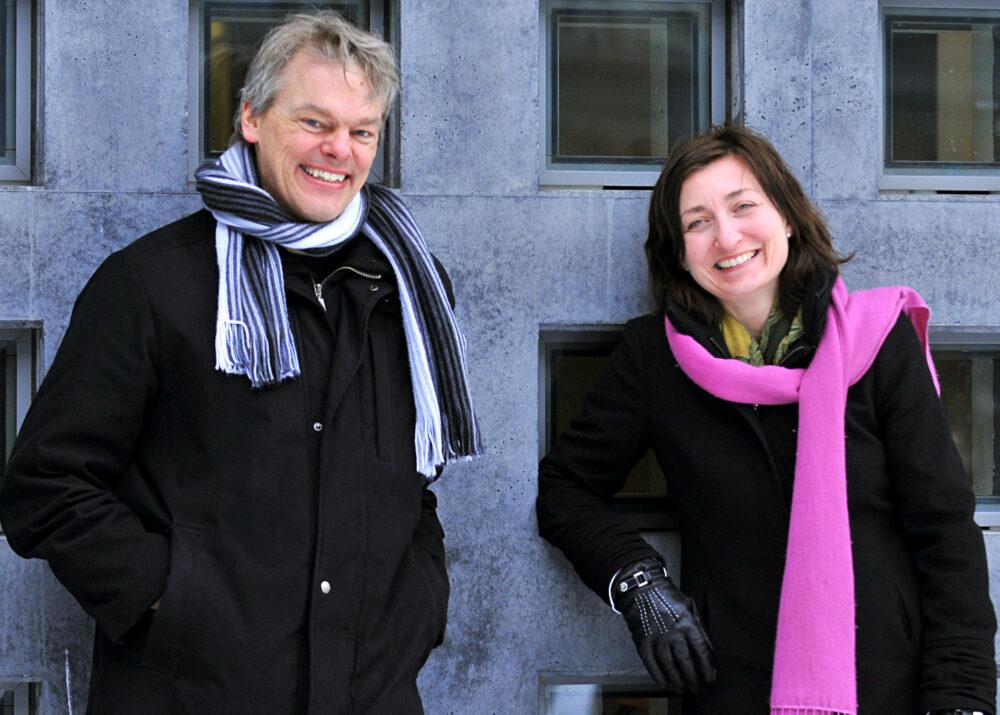 Edvard et Britt-May Moser, Nobel de médecine 2014 (©DR)