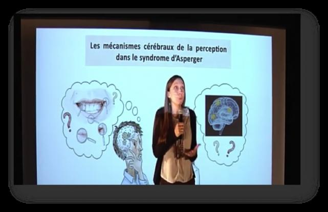 Laurie-Anne Sapey-Triomphe présente le sujet de sa thèse au concours Ma thèse en 180 secondes