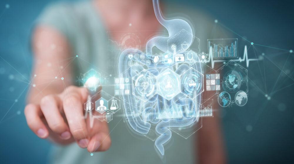 Le microbiote intestinal participe au fonctionnement du cerveau et à la régulation des humeurs (Shutterstock/sdecoret)