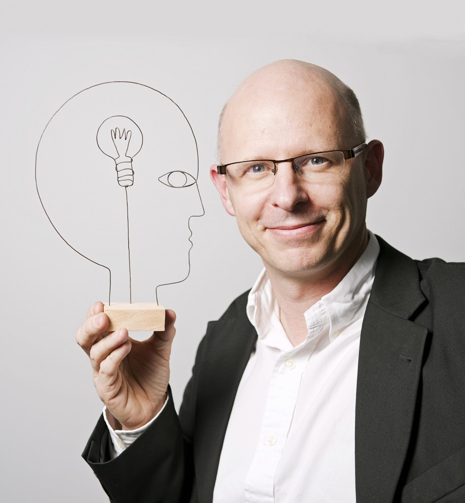 Le neuroscientifique Stanislas Dehaene, professeur au CollegedeFrance (phot : Franck Ferville pour L'Express)
