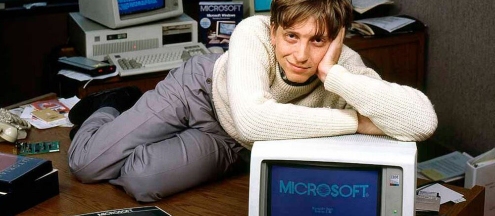 Bill Gates, jeune entrepreneur