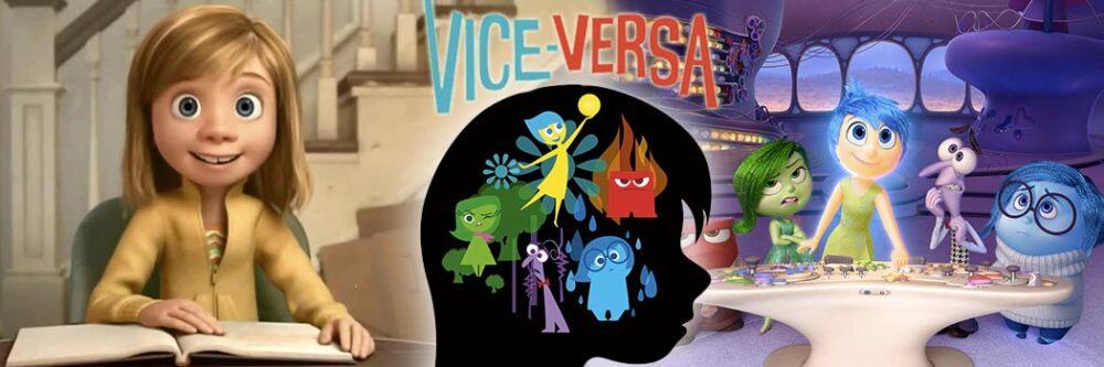Autour du film Vice-versa (©Disney)