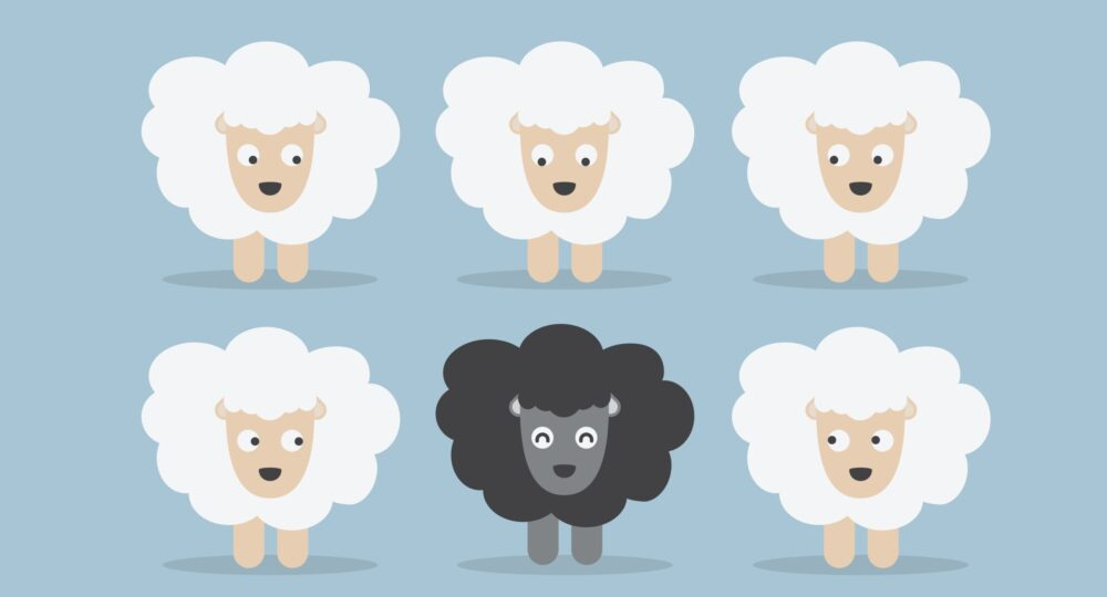 Le syndrome du mouton noir : à l'origine des discriminations