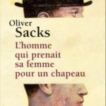 """Couverture du livre """"L'Homme qui prenait sa femme pour un chapeau""""."""