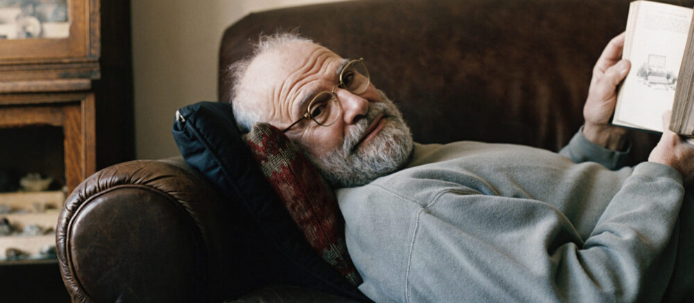 Oliver Sacks On The Move - photo : Jurgen Frank/Corbis